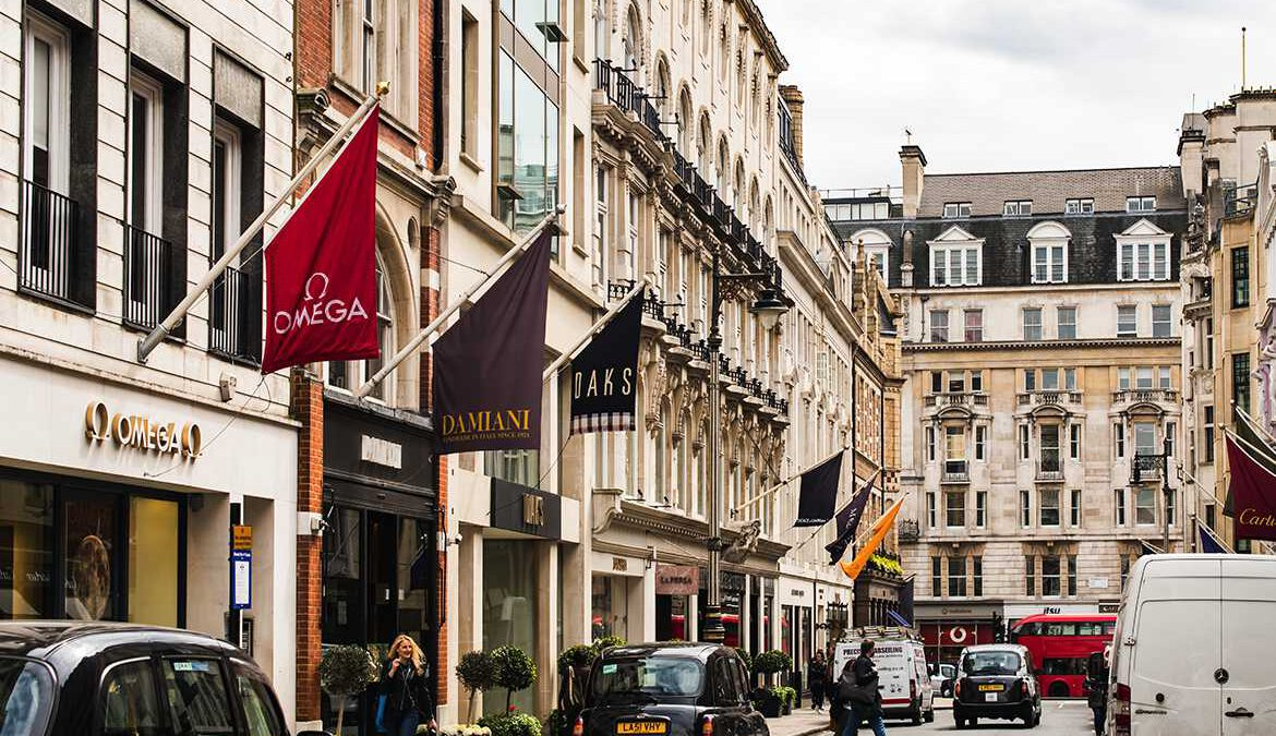 Shopping in London with Park Lane Apartments